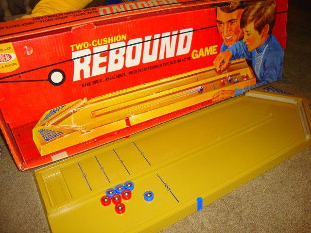 "Rebound >> Vintage 70's game, ""Rebound"" | Vintage Toys :) | Pinterest | Rebounding, Childhood and ..."