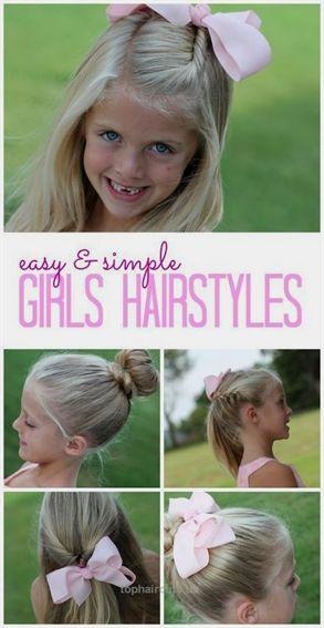 Leichte und einfache Mädchenfrisuren! DIY Tutorials und Easy Hair Tips für Ihre kleinen Mädchen! Back to School Hacks!… Einfache und einfache Mädchenfrisuren! ...