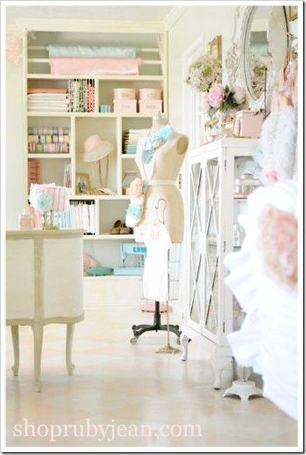 Vintage Sewing Room by lilia