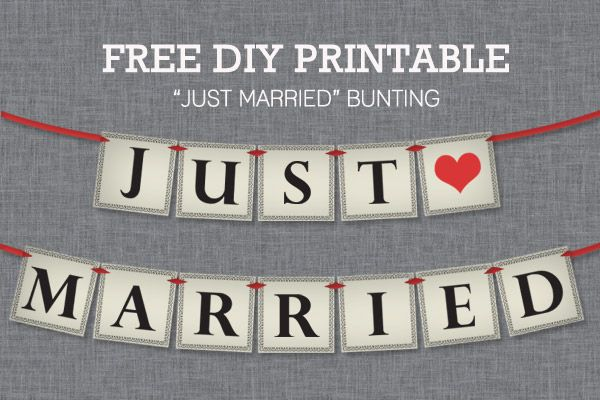 You are going to love the DIY feature this month. Anna Skye from Download and Print is telling you how to make a DIY Just Married Bunting. It a sign that can be hung at your wedding, put on a car or can be held when taking pictures. You can get a free download, but she [...]