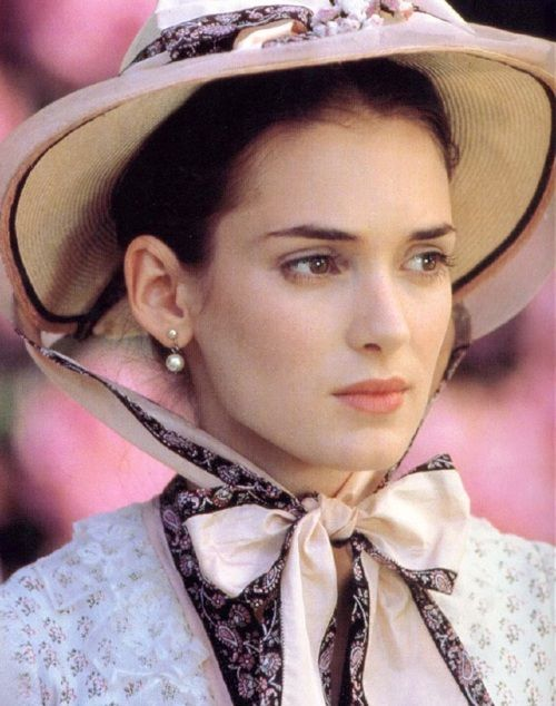 Winona Ryder,  'The Age of Innocence' 1993,   costumes by Gabriella Pescucci.