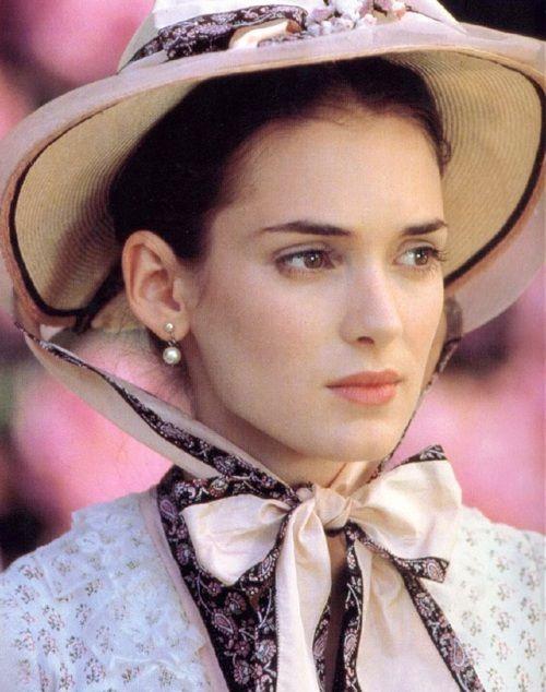 The Age of Innocence (1993) Winona Ryder as May Welland. Director: Martin Scorsese #CostumeDesign: Gabriella Pescucci