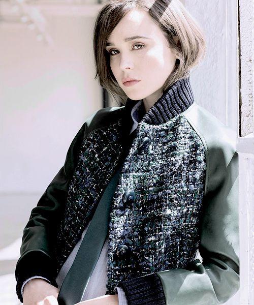 Ellen Page for Flare Magazine, June 2014