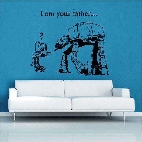 Found It At Wayfair.co.uk   Banksy Star Wars Decal Vinyl Wall Sticker Part 89