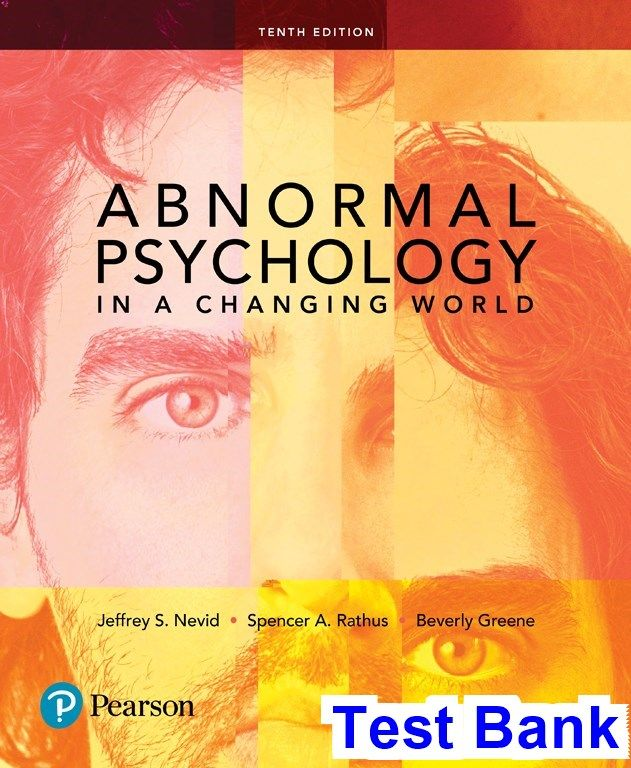 43 best test bank dowload images on pinterest manual textbook and abnormal psychology in a changing world 10th edition nevid test bank test bank solutions fandeluxe Images