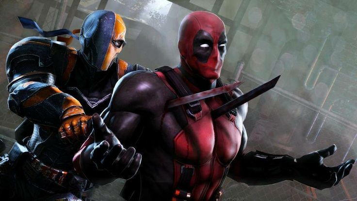 deadpool vs deathstroke Deathstroke and deadshot are from dc comics and deadpool is from marvel comics note:- i've shown deathstroke and deadshot details according to arrow tv series.