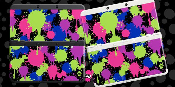 Splatoon 3DS cover plates