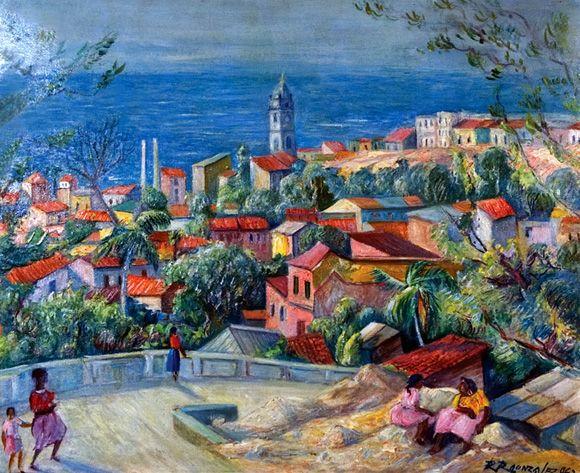 PINTORES LATINOAMERICANOS-JUAN CARLOS BOVERI: Pintores Venezolanos: RAFAEL RAMÓN GONZÁLEZ