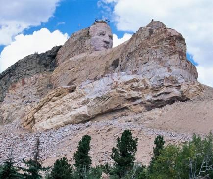 best pictures of the black hills and badlands | ... to Do in South Dakota's Black Hills and Badlands--Crazy Horse Memorial