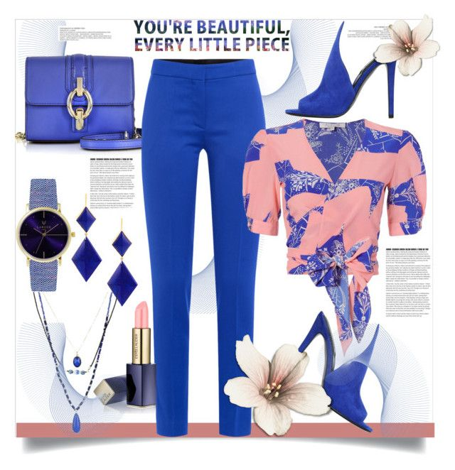 """You're Beautiful, Every Little Piece"" by helenaymangual ❤ liked on Polyvore featuring Diane Von Furstenberg, Moschino, Alexis, Kendall + Kylie, Estée Lauder, Marie Hélène de Taillac, Laruze and Mixit"