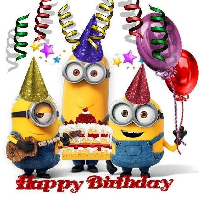 Happy Birthday My Friend Happy Birthday My Friend Happy Birthday Minions Happy Birthday Images