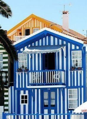 Costa Nova, Aveiro, Centro de Portugal, Portugal