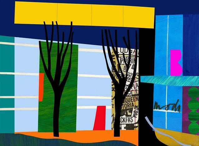 Print Makers   Bruce McLean   Designer Trees