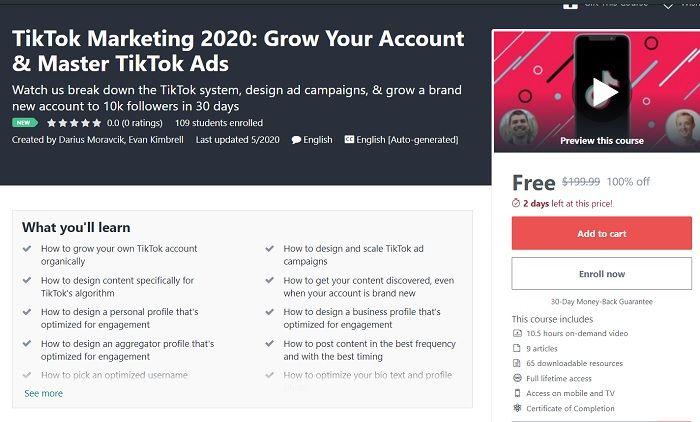 Tiktok Marketing 2020 Grow Your Account Master Tiktok Ads Marketing Accounting Master
