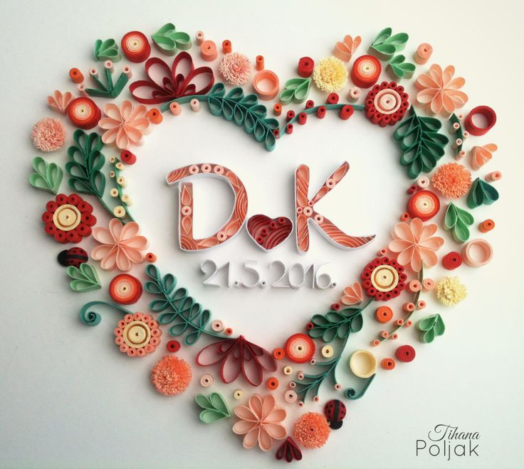 25 best ideas about quilling letters on pinterest paper for Best quilling designs
