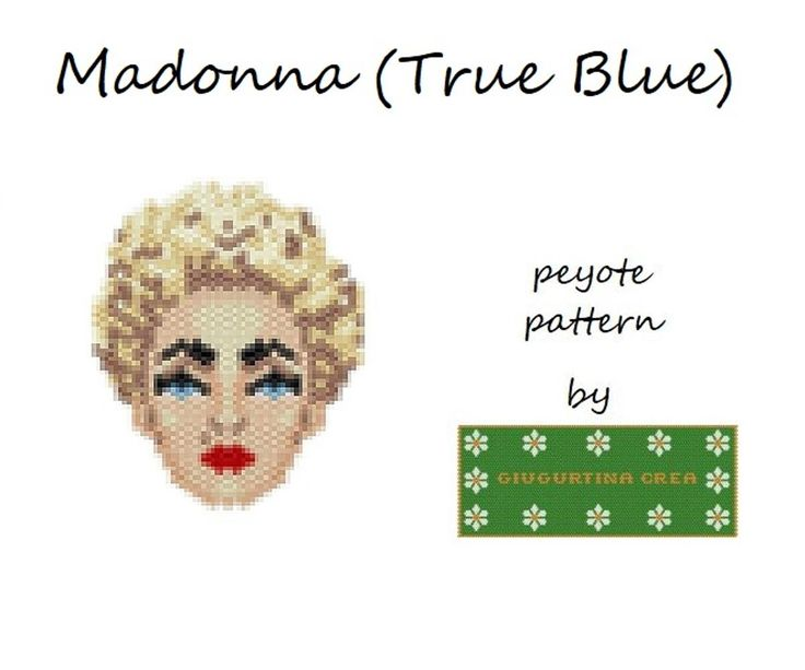 Madonna (True Blue)   Craftsy