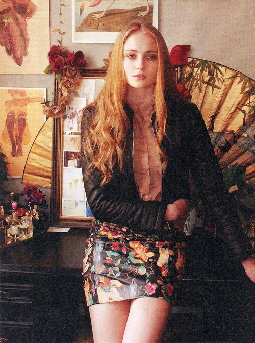 Sophie Turner, by Kristin Vicari for Nylon Magazine, September 2012.