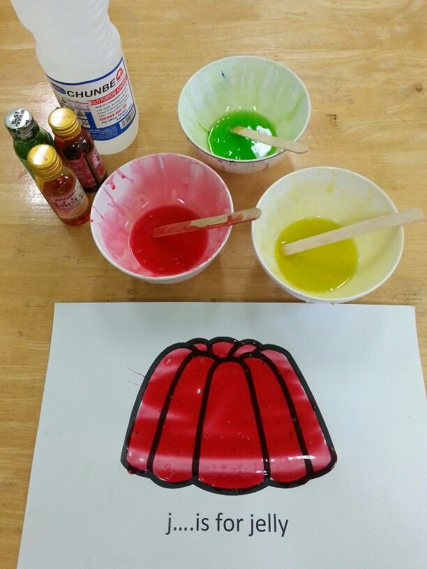 jelly glue craft