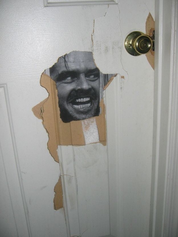 If you punch a hole through the door, fix it with Jack Nicholson. | 23 Ways To Be A Better Roommate