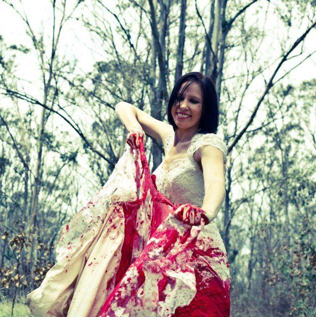 Trash the Dress divorce photo shoot idea
