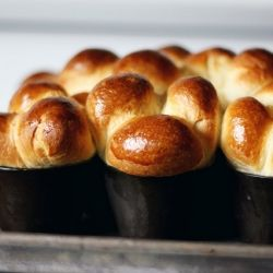 The easiest recipe for an old favorite, buttery brioche rolls from Dorie Greenspan