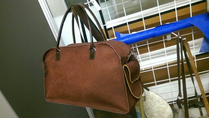 ROW hand made over night bag