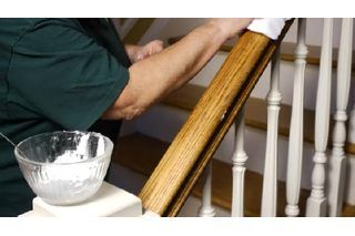 Wooden handrails can develop a sticky texture--from dirty hands, body oils, and even the wrong cleaning products. Since the stair handrails are used nearly every time a person goes up or down, it's important to keep them clean and free of any texture that would cause a person to avoid them. Cleaning sticky residue off of the handrails is fairly...