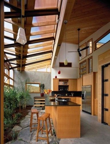 Best 25 greenhouse kitchen ideas on pinterest big for Kitchen with sunroom attached