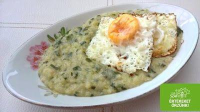 Éhezésmentes karcsúság Szafival - Cukkini-medvehagyma főzelék