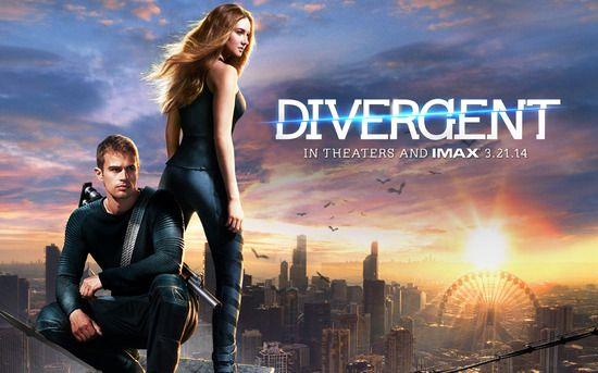 分歧者 (Divergent)  變相的大逃殺飢餓遊戲移動迷宮...