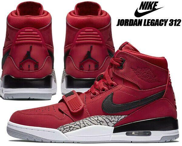 air jordan legacy 312 rouge