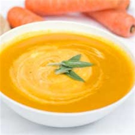 Crème de carottes rapide