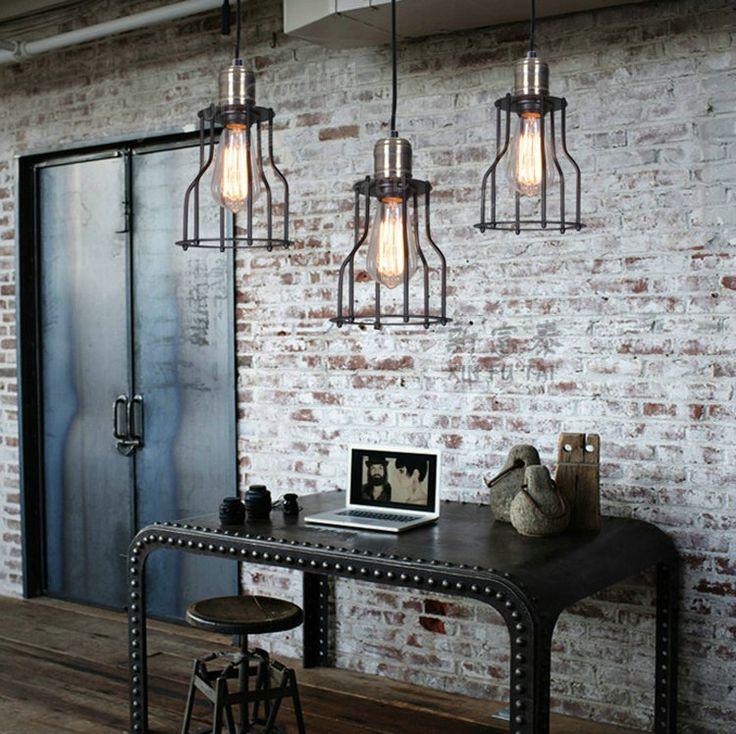 Металл в интерьере и индустриальный стиль. #мебель #металл #интерьер…