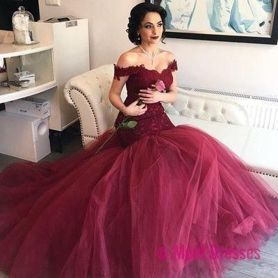 Off Shoulder Wedding Dress,Sexy Backless Wedding Gown,Ball Gown Bridal Dress F455