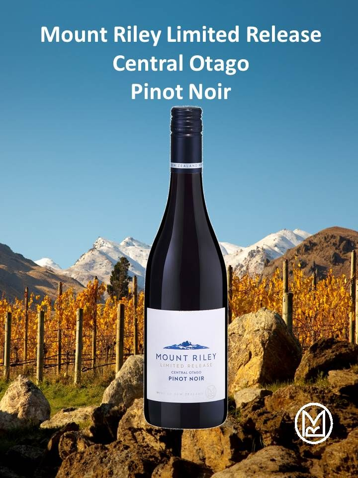 Introducing the newest member of the Mount Riley family, the Limited Release Central Otago Pinot Noir. The fruit for this wine was grown in the Gibbston Valley and trucked to the winery after being picked on the 5th of May 2015. It then spent 10 months in French oak barriques where it matured in to the mouthwatering juicy wine it is now. Check it out now as there is only a limited number of cases of available!