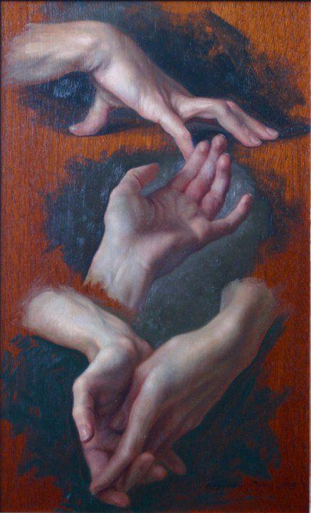 Hand Study - Kamille Corry join us http://pinterest.com/koztar/cg-anatomy-tutorials-for-artists/