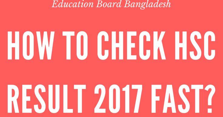 HSC Result 2017 Bangladesh [Education Board Bangladeh]