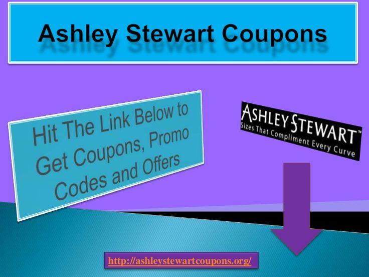Ashley stewart coupons 2019