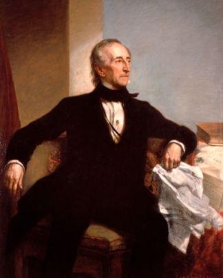 Official White House Portrait of John Tyler - 10th President of the United States
