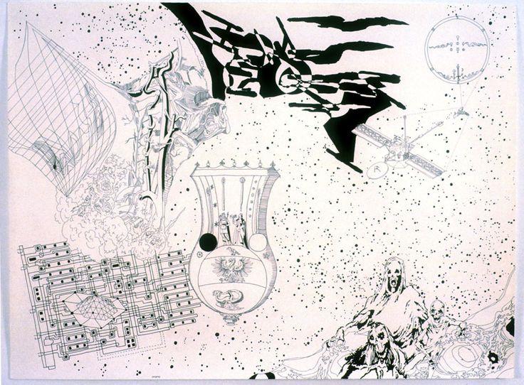 Jesse Bransford / Work: Gestalt Drawings