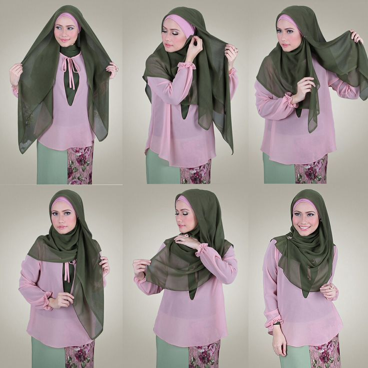 loose square hijab tutorial