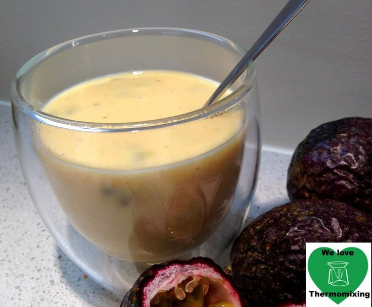 Recipe Passionfruit Custard by We Love Thermomixing - Recipe of category Desserts & sweets