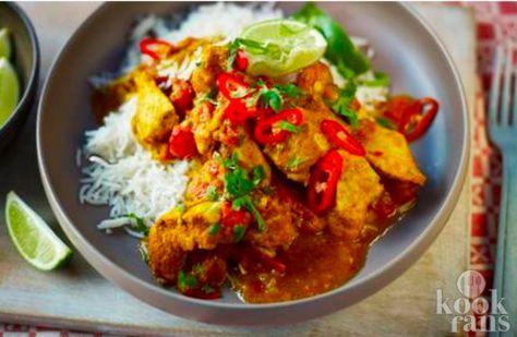 Deze curry is echt overheerlijk! Heb je zin om eens iets anders te eten dan aardappelen met groente en een stukje vlees? Probeer deze Indiase curry dan eens te maken! Je maakt de curry in ongeveer 45 minuten. Iedereen zal versteld staan van je kookkunsten als je dit bijzondere gerecht klaarmaakt!