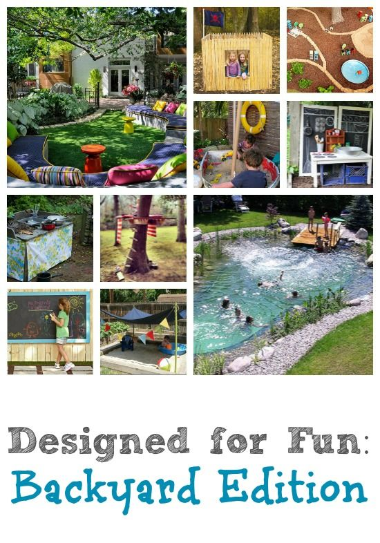 Whether your yard is big or small, full of kids or full of adults, weve got  you covered! Check out lots of ideas for making your backyard more fun at  ... - 432 Best Fun Family Living Images On Pinterest Painted Rocks
