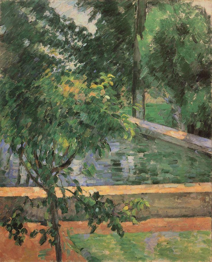 Le Bassin du Jas de Bouffan, c. 1878 (cat. no. 116) | Catalogue entry | The Paintings of Paul Cézanne, an online catalogue raisonné