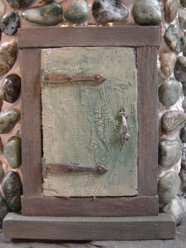 210 best images about fairy house windows and doors on for Make an elf door