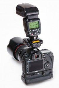 E-TTL flash on Canon body