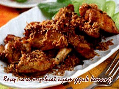 Resep Cara Membuat Ayam Gepuk Kemangi
