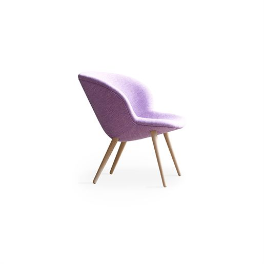 "+HALLE ""Capri"" lounge chair by Danes Busk & Herzog.  New Danish ""humanoid"" look."