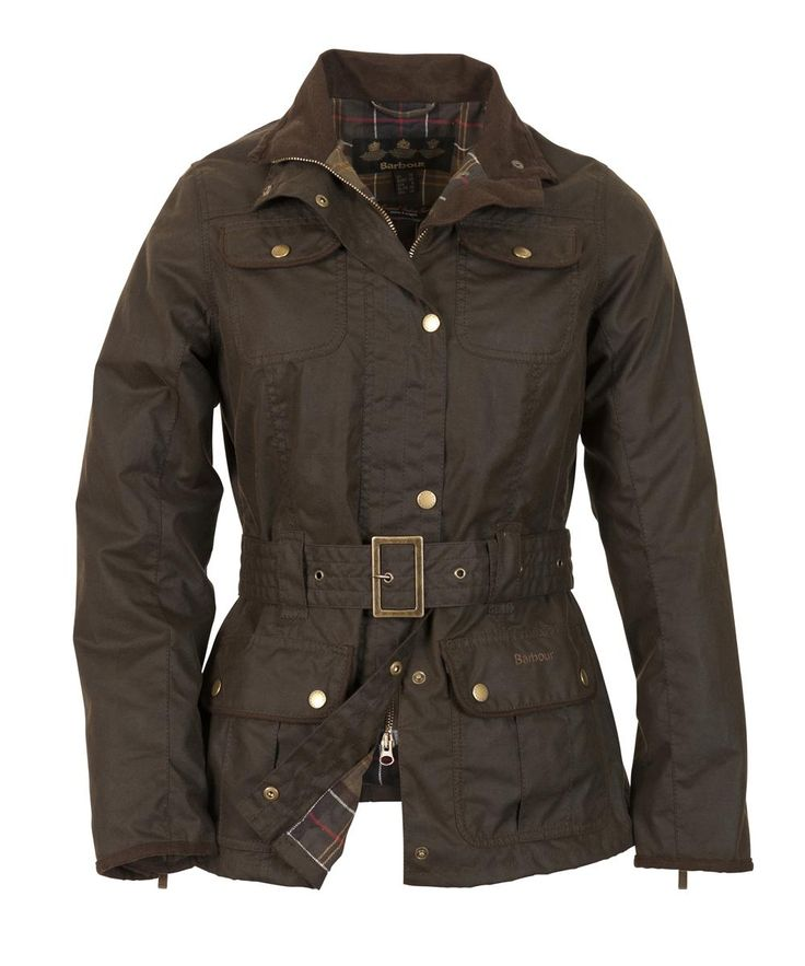 Womens Barbour Belted Utility Waxed Jacket   Barbour's Dedicated Online Shop for Barbour Clothing $345